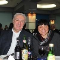 მეუღლესთან, ქალბატონ დეასთან ერთად